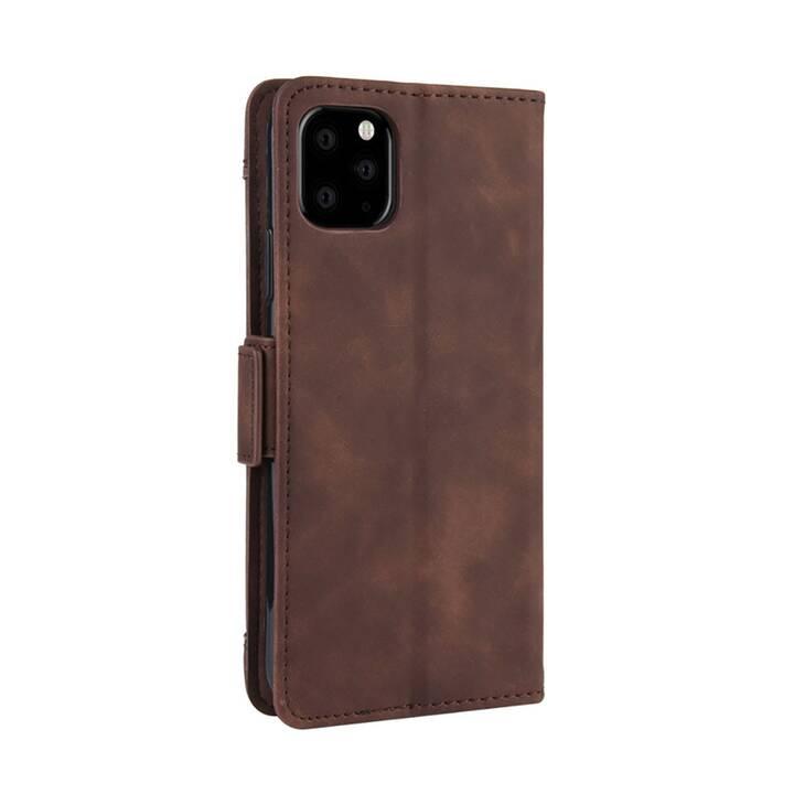 """EG MornRise Wallet Case für Apple iPhone 12 und 12 Pro 6.1"""" (2020) - braun"""