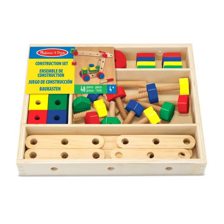 Kit de construction MELISSA & DOUG 48 pièces en bois