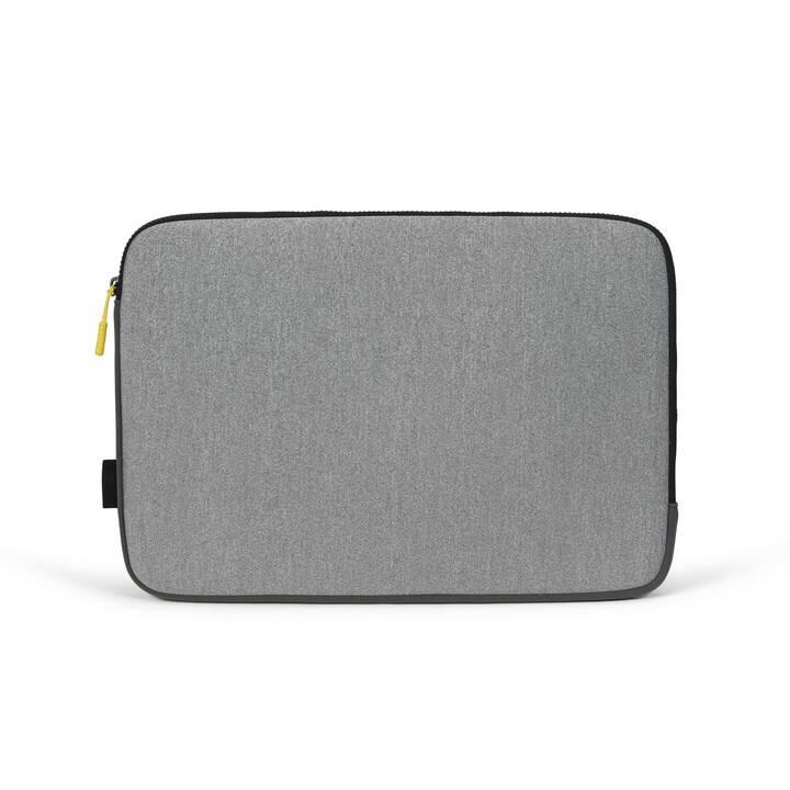 DICOTA Skin FLOW Sleeve (39.6cm, Grau, Gelb)
