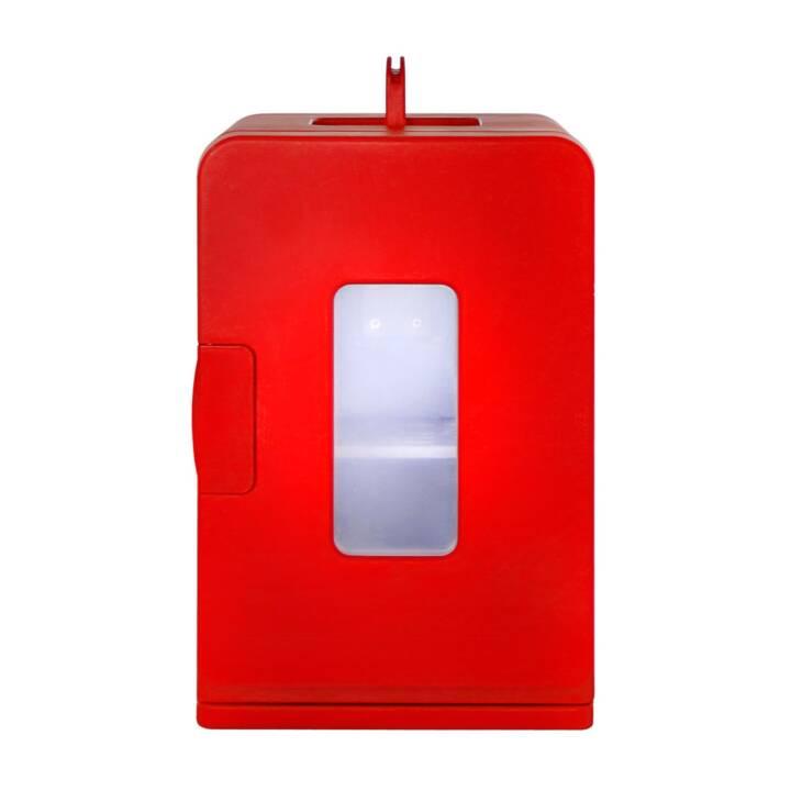 INTERTRONIC Mini Fridge 3 (Rosso, A destra)
