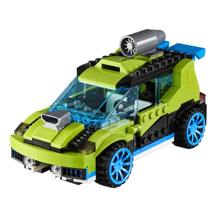 LEGO Creator 3-in-1 Raketen-Rallyeflitzer (31074)