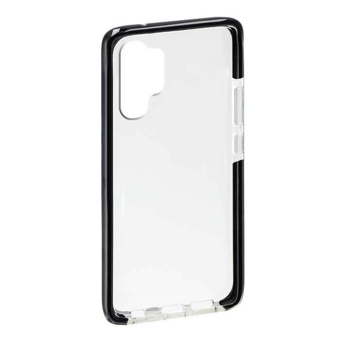HAMA Backcover Prime Line Protector (Galaxy Note 10 Plus, Schwarz, Transparent)