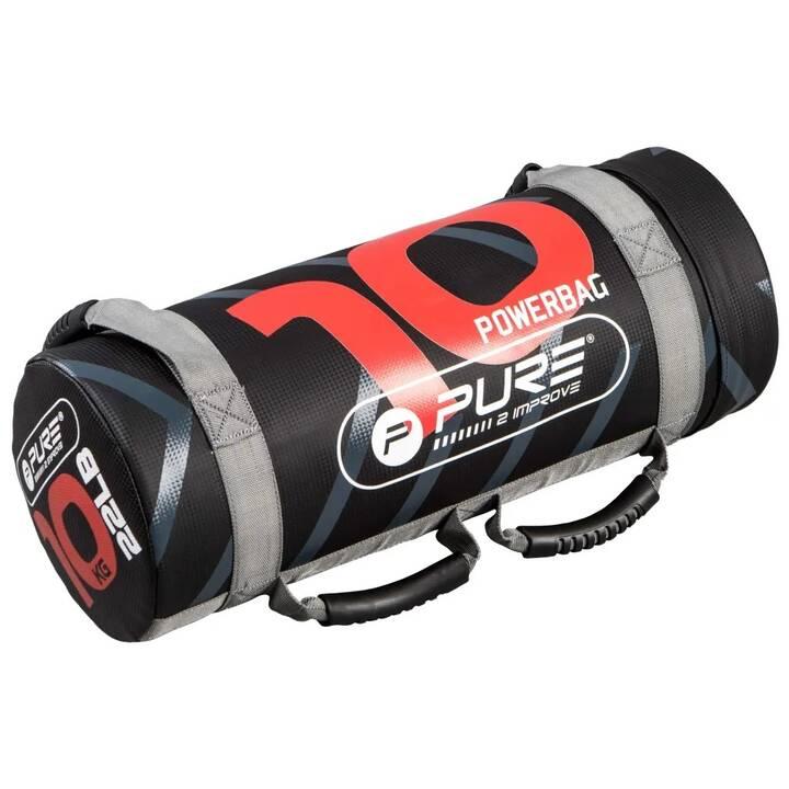 PURE2IMPROVE Poids haltère Power Bag (10 kg)