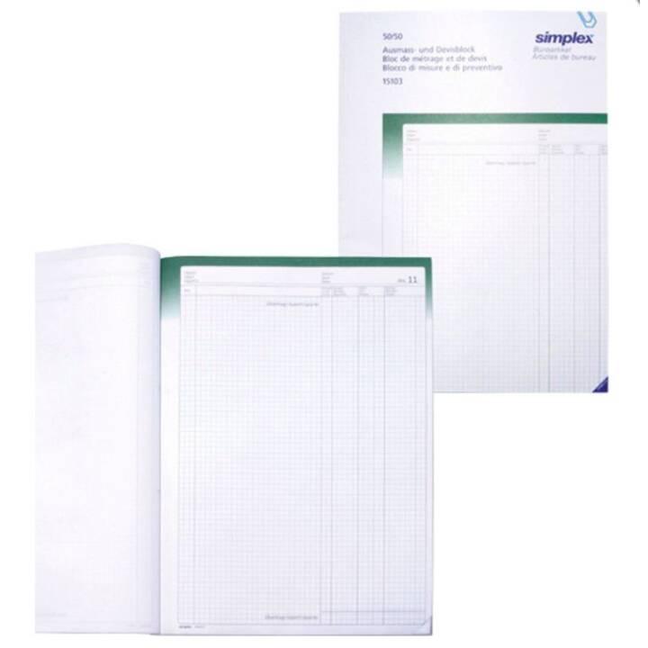 SIMPLEX format A4 et bloc monétaire