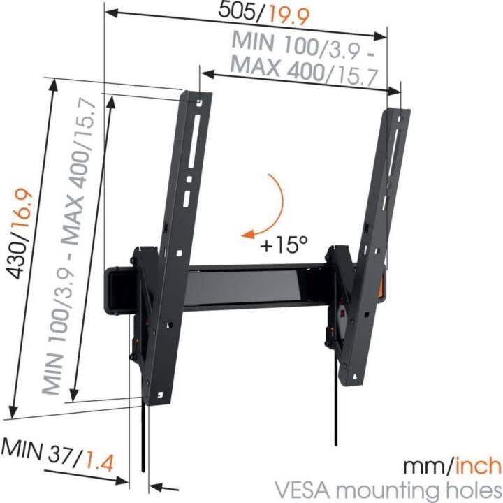 VOGEL'S WALL 3215 Noir