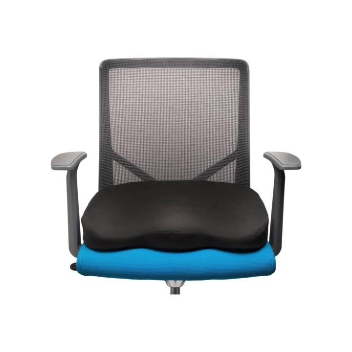 Cuscini Per Sedersi.Kensington Ergo Memory Foam Cuscino Per Sedersi Nero Microspot Ch