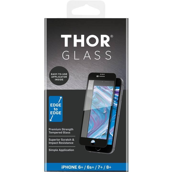 THOR Vetro protettivo da schermo (iPhone 6 Plus, iPhone 6s Plus, iPhone 7 Plus, iPhone 8 Plus)