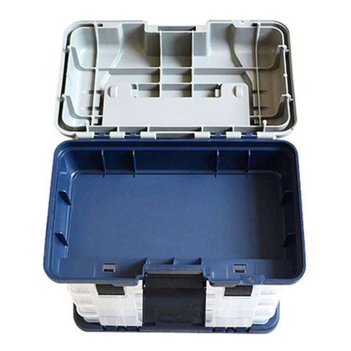 EG Scatola per attrezzatura da pesca a 5 strati - Blu