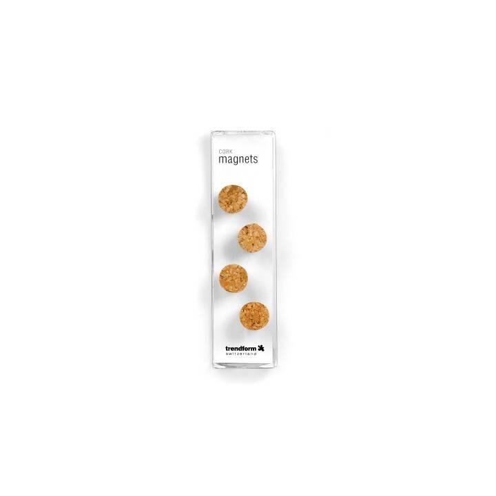 TRENDFORM Magnet (4 Stück)
