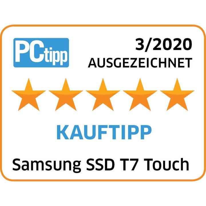 SAMSUNG T7 Touch (USB 3.1, 2 TB, Nero)