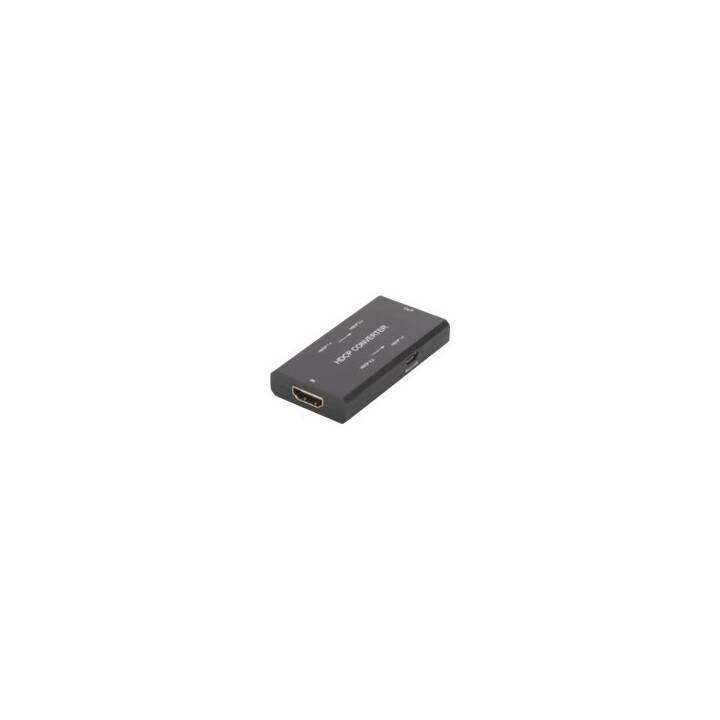 Konvertiert die HDCP Version einer HDMI-