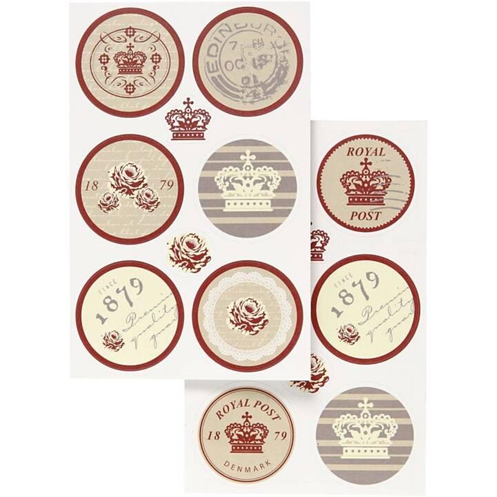 Sticker Motif Royal CREATIV COMPANY Sticker Motif Royal