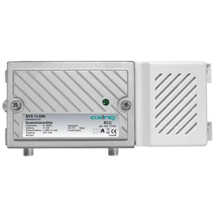 AXING BVS 13-69N Amplificateurs et répartiteurs (Blanc, Argent)