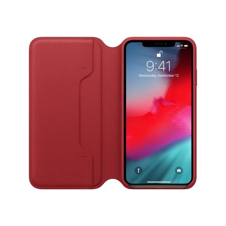 APPLE iPhone XS Max Folio in pelle, (PRODOTTO) Rosso