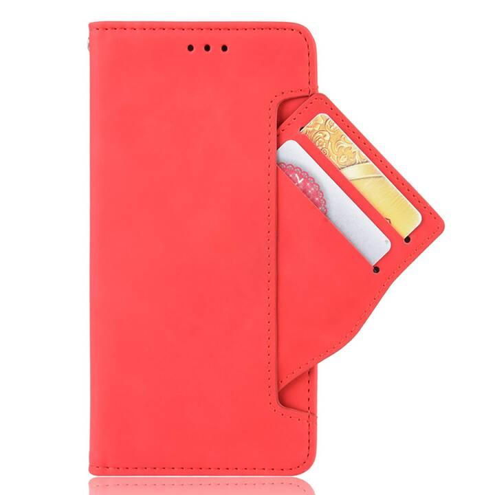 """EG MORNRISE Custodia a portafoglio per Samsung Galaxy Note 10 6.3"""" 2019 - Rossa"""