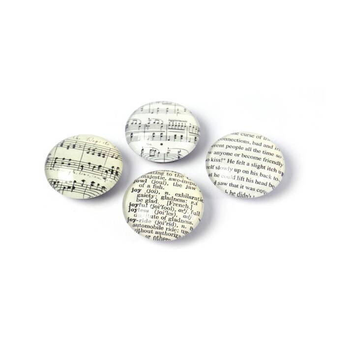 TRENDFORM Fine Arts Magnete (4 Stück)