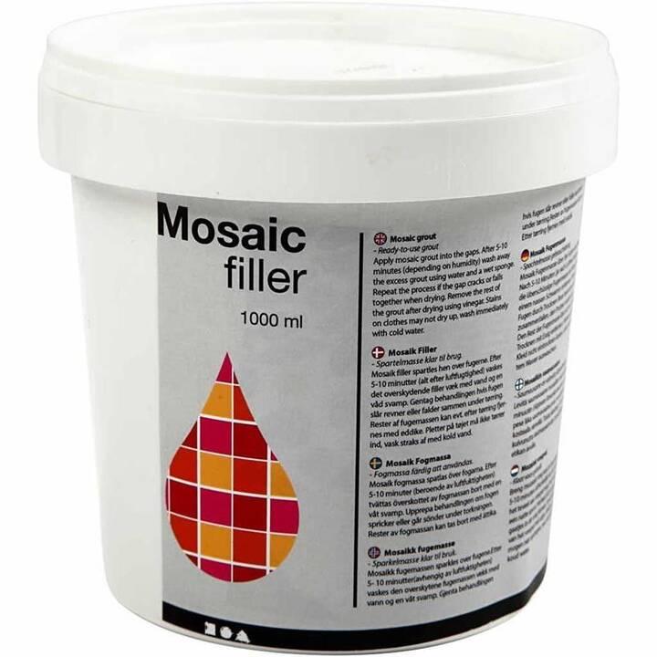 CREATIV COMPANY Mosaïque 1000 ml  (Blanc)