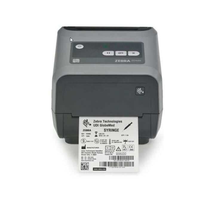ZEBRA TECHNOLOGIES DT Printer ZD420/ Standard EZPL, 300 dpi Etikettendrucker