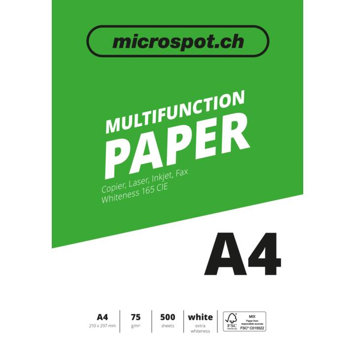 MICROSPOT Multifunktionspapier A4 – 500 Blatt