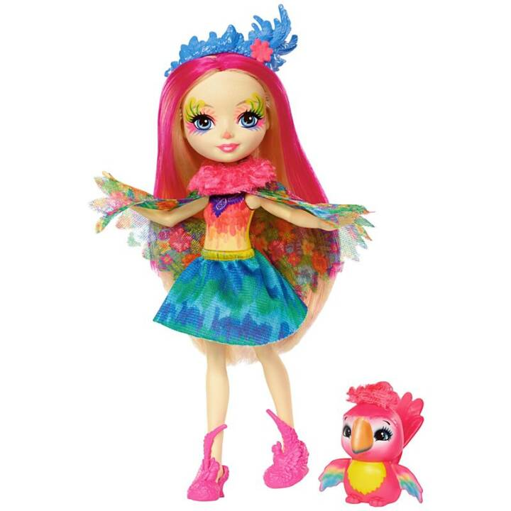 MATTEL Enchantimals Peeki pappagallo pappagallo Ragazza pappagallo