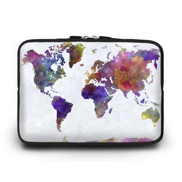 "EG HUADO Custodia per Laptop per 14"" - Map"