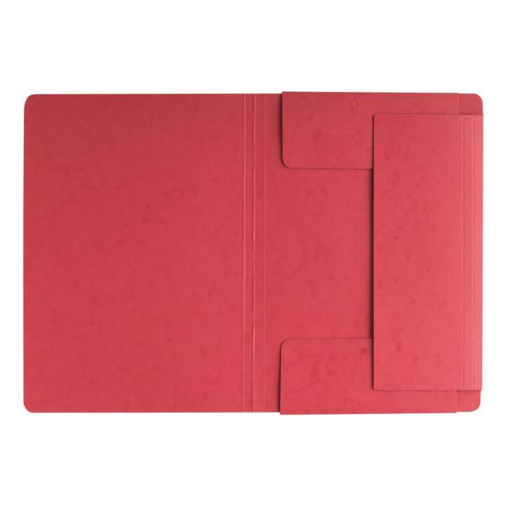 Cartella elastica PAGNA A4 rosso