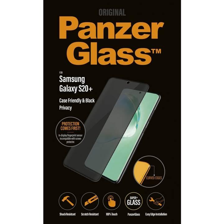 PANZERGLASS Vetro protettivo da schermo Privacy (Cristallino, Galaxy S20+)