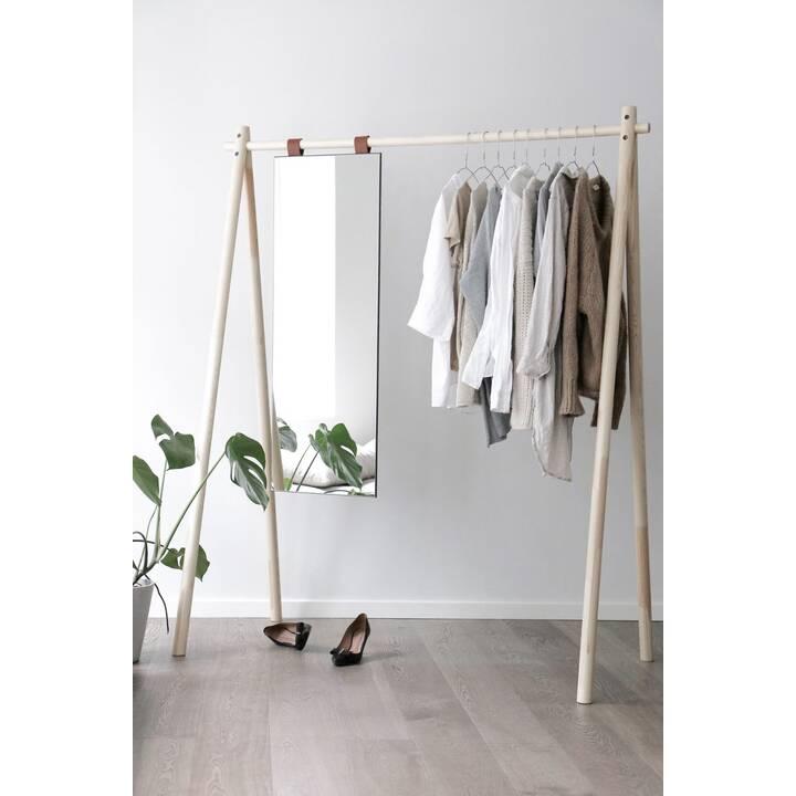 KARUP DESIGN Kleiderständer mit Spiegel Hongi (Schwarz)