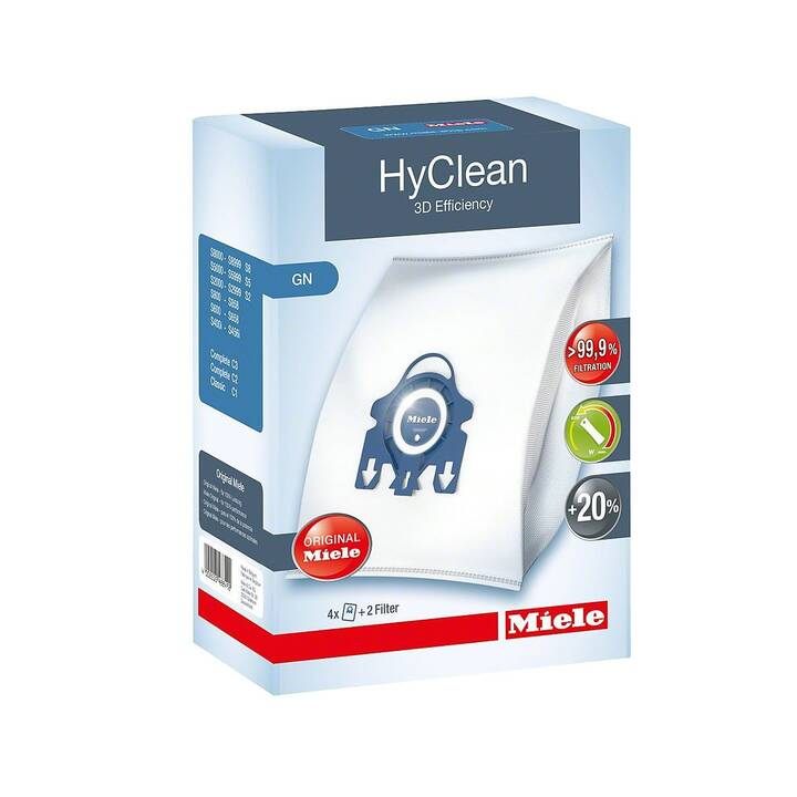 MIELE Staubsaugerbeutel GN HyClean 3D Efficiency