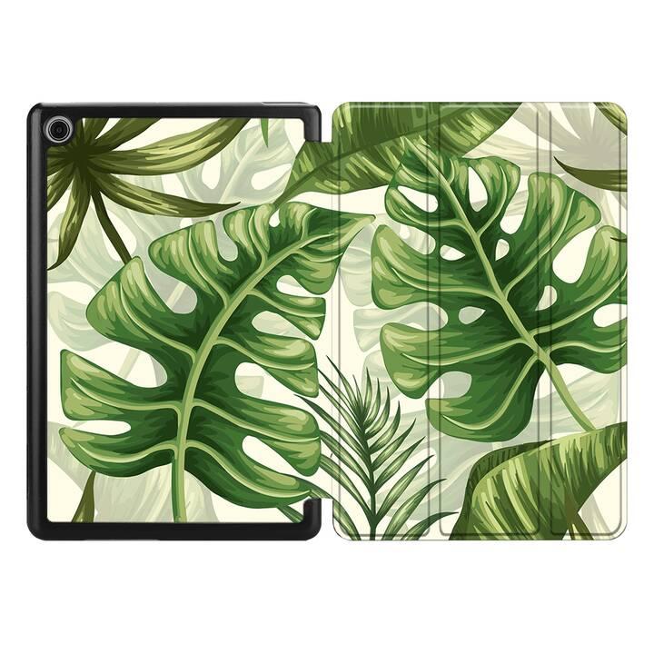 """EG MTT Housse pour HUAWEI MediaPad M5 8.4"""" 2018 - plantes tropicales"""