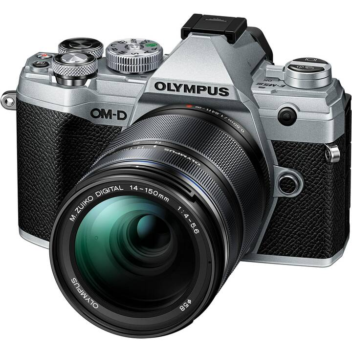 OLYMPUS E-M5 Mark III + M.ZUIKO DIGITAL ED 14-150 mm F4-F5.6 Kit (20.4 MP, WLAN)