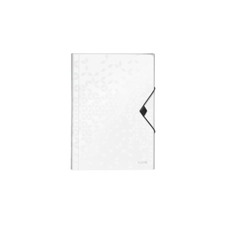 LEITZ Dossier d'index Wow (Blanc, A4, 1 pièce)