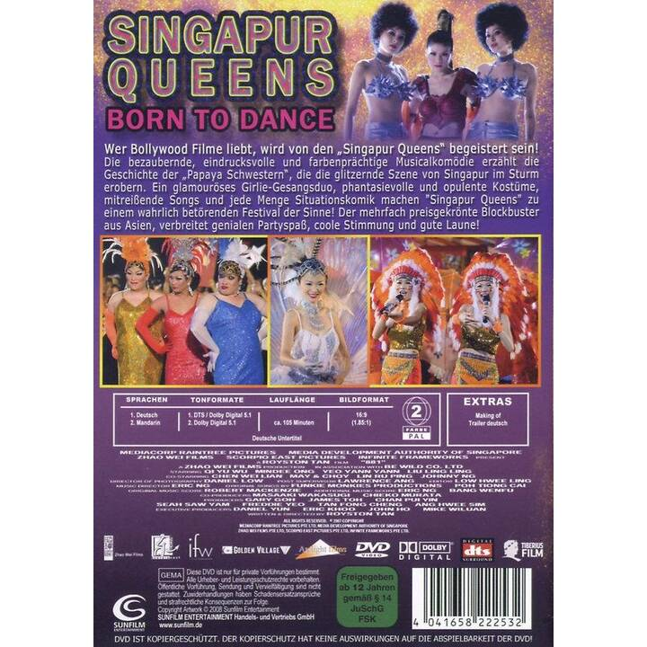 Singapur Queens - Born to Dance (DE, Mandarino)