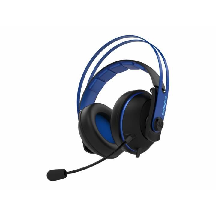 ASUS Cerberus V2 (Over-Ear, Blau, Schwarz)