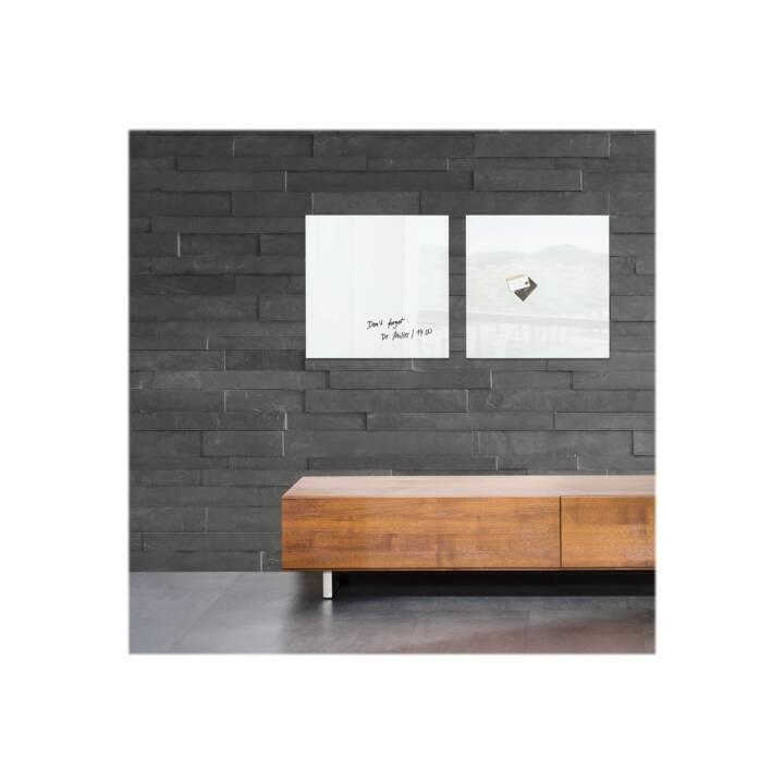SIGEL Magnethaftendes Glassboard artverum 48 x 48 cm