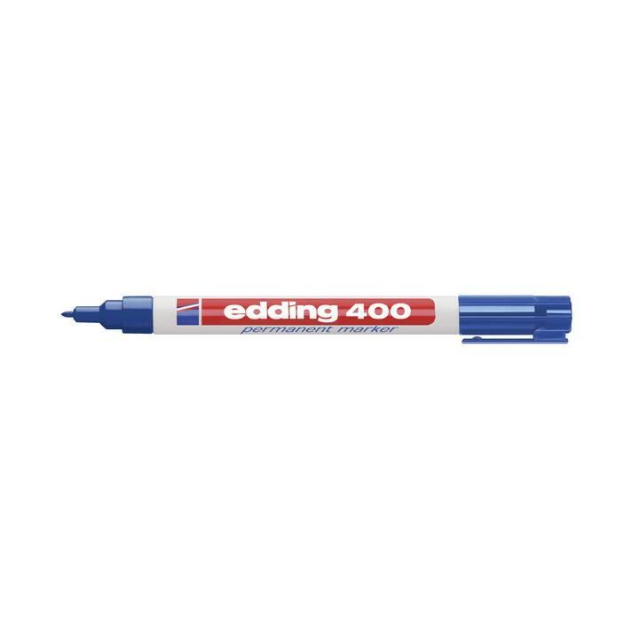 Marcatore permanente EDDING 400 -1mm blu