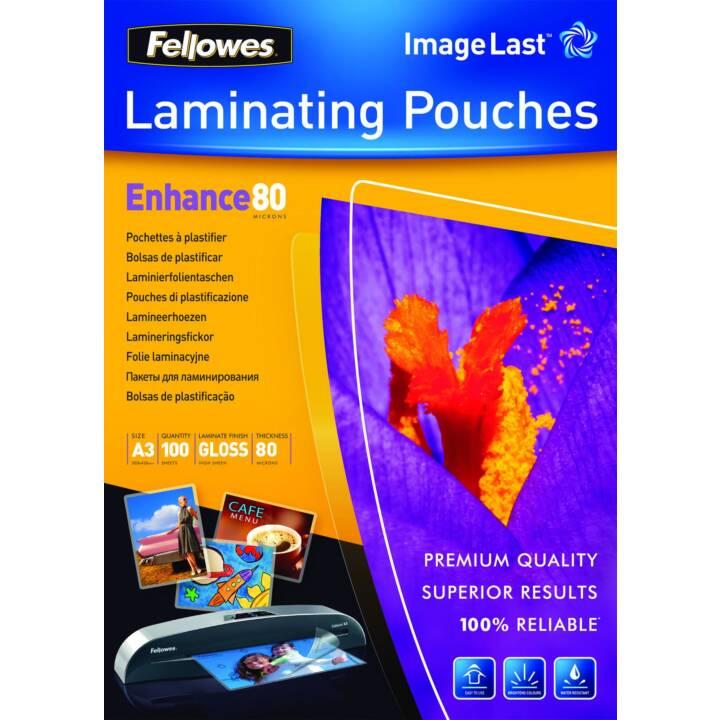FELLOWES film de plastification A3 80 µm