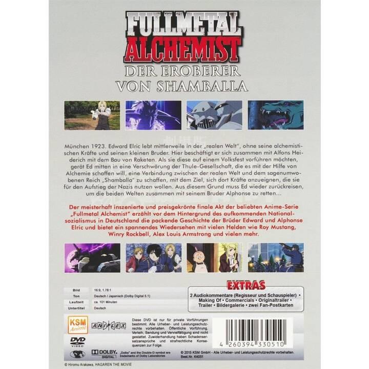 Fullmetal Alchemist - Der Eroberer von Shamballa (DE, JA)