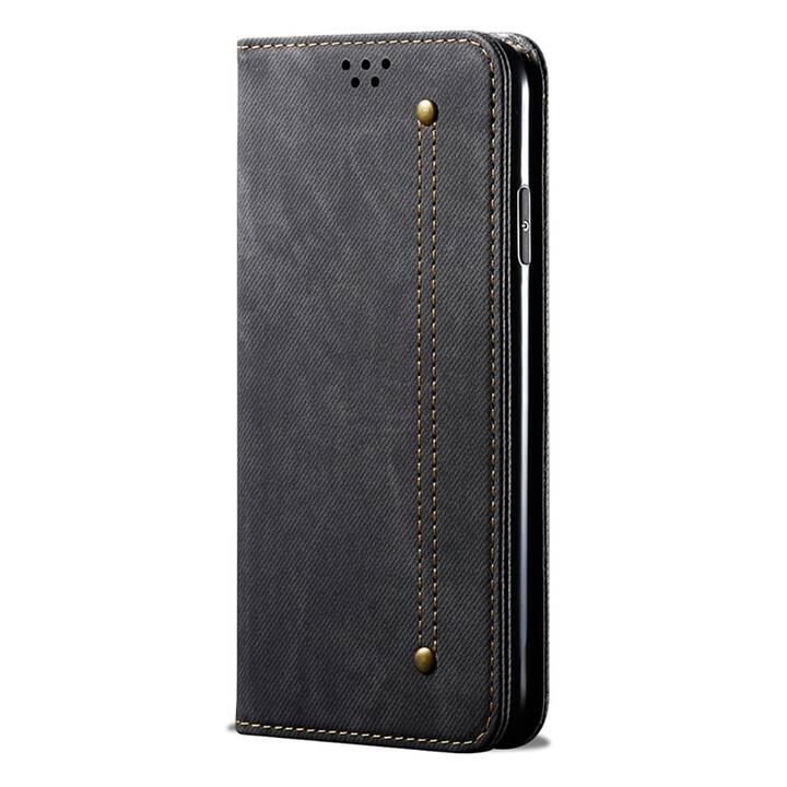 """EG Mornrise custodia a portafoglio per Samsung Galaxy S20 Ultra 6.9"""" 2020 - nera"""