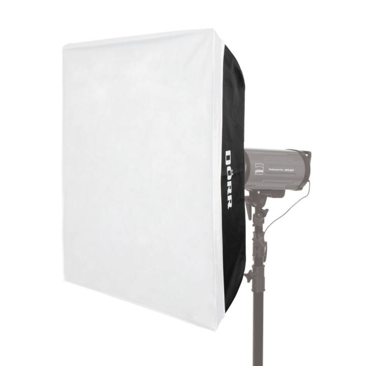DÖRR Softbox (Nero, Bianco, 800 x 1200 mm)