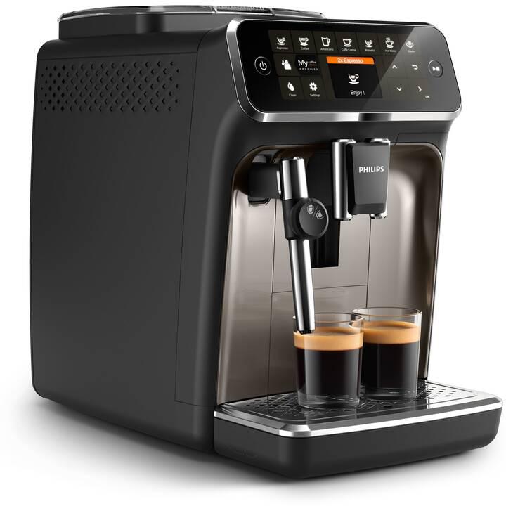 PHILIPS 4300 Series EP4327/90 (Brillant noir, Machines à café automatique)