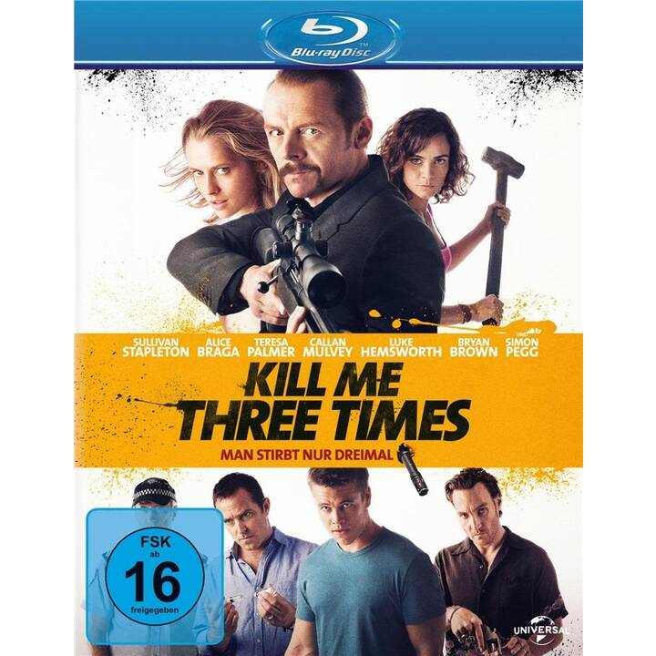 Kill Me Three Times - Man stirbt nur dreimal (ES, PT, DE, EN, FR)
