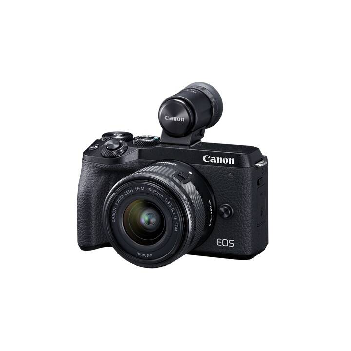 CANON EOS M6 Mark II + EF-M 15-45 mm f/3.5-6.3 IS STM (32.5 MP, WLAN)