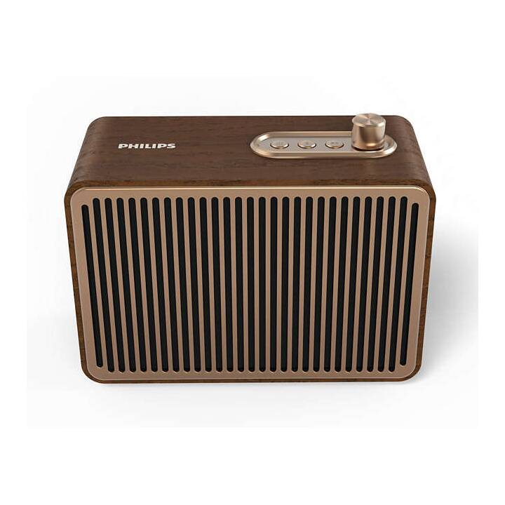 PHILIPS TAVS500/00 (Bluetooth, Bluetooth, Doré, Brun, Brun)