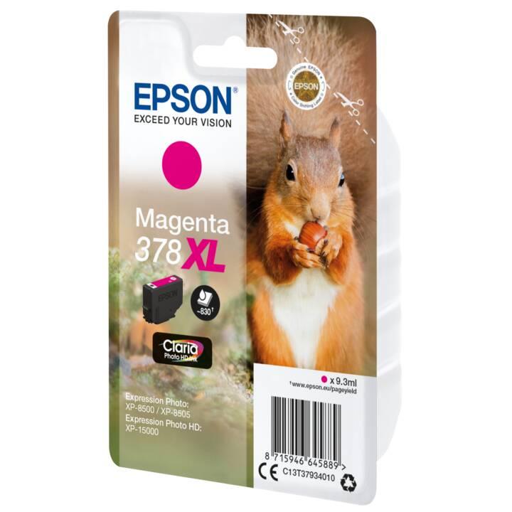EPSON cartouche simple 378 XL Magenta
