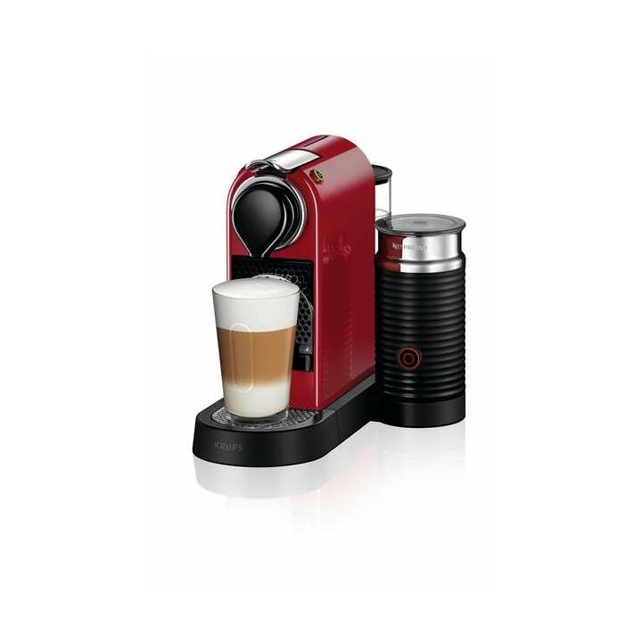 KRUPS Citiz & Milk XN7615 (Nespresso, Rosso)