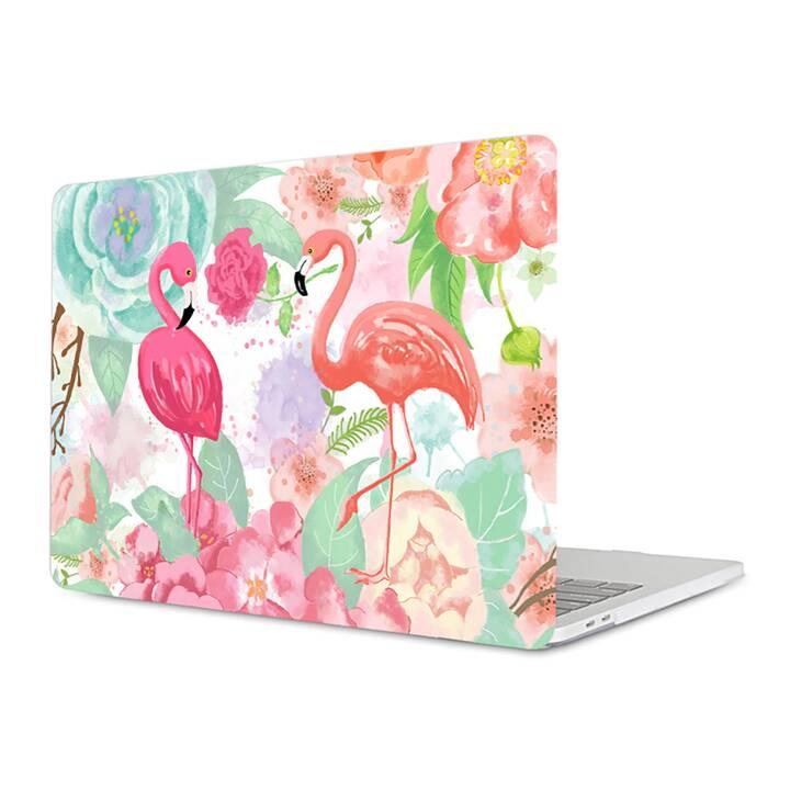 """EG MTT housse pour Macbook Pro 13"""" Touch Bar - flamingo"""