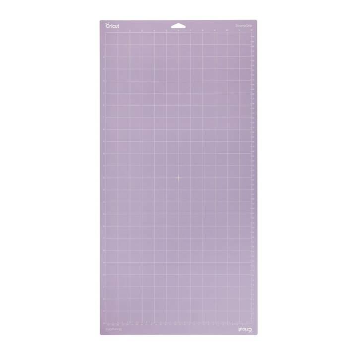 CRICUT Accessoires pour plotter de découpe StrongGrip (304 mm x  609.6 mm, Blanc, Violet)