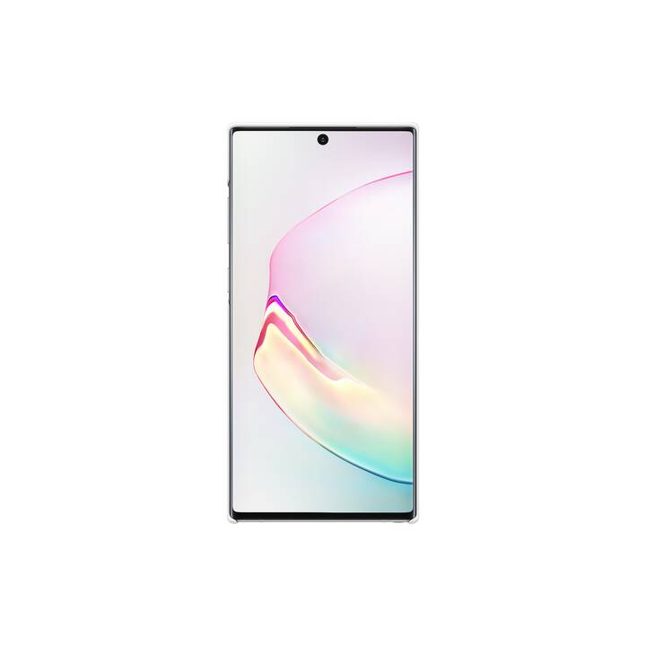 SAMSUNG Backcover LED (Galaxy Note 10 Plus, Weiss)