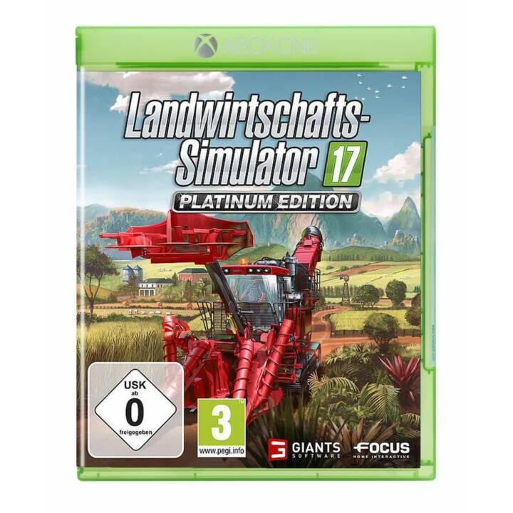 Simulateur agricole 17 Platinum Edition (DE)
